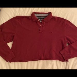 Tommy Hilfiger over-sized crop!
